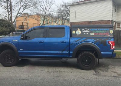 Above-and-Beyond-Carpentry-Blue-PickUp