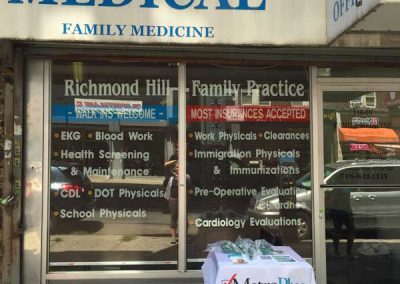 Richmond-Hill-Family-Medicine-Storefront-Windows